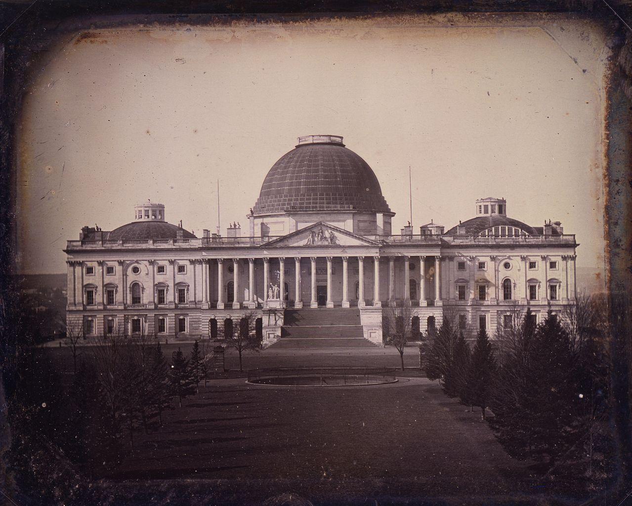 File United States Capitol Circa 1846 By John Plumbe Jpg
