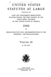 United States Statutes at Large Volume 83.djvu