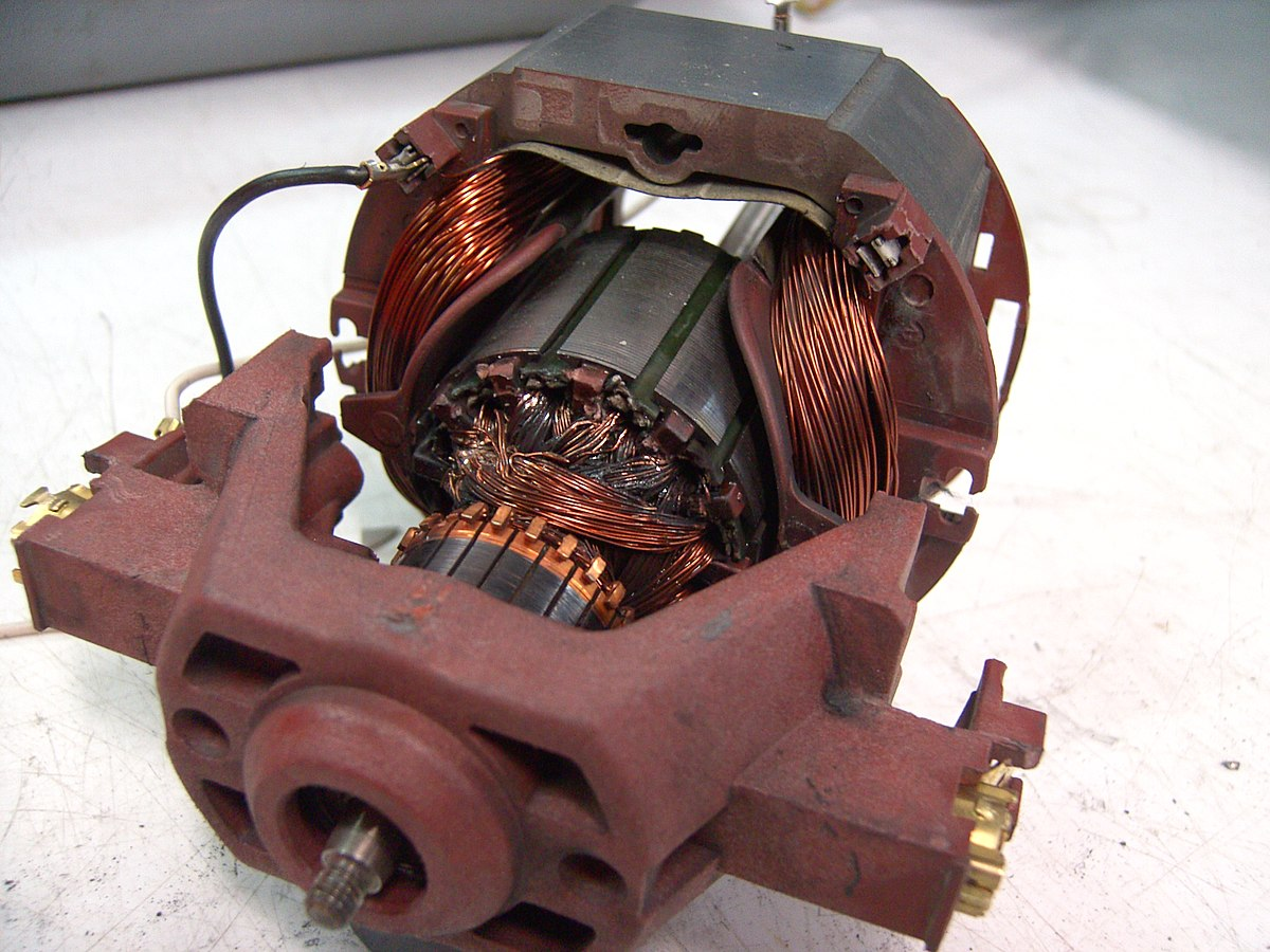 Universal motor wikipedia for Dc stepper motor working