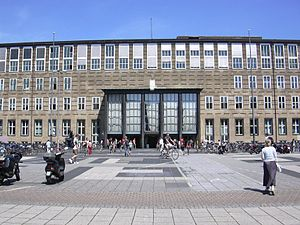 University of Cologne - Main building, by architect Adolf Abel, 1934