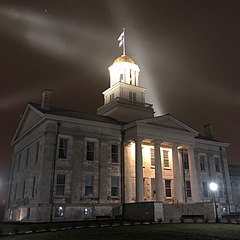 University of Iowa Old Capital at Night.jpg