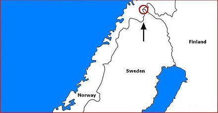 treriksrøysa kart Treriksrøysa   Wikiwand treriksrøysa kart