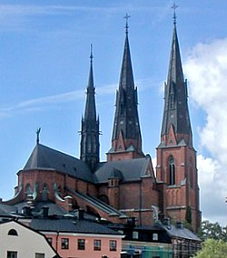 The Cathedral of Uppsala.