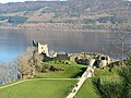 Urquhart Castle at Loch Ness - geograph.org.uk - 377151.jpg