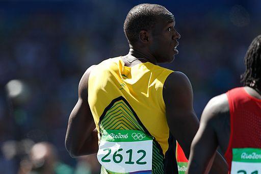 Usain Bolt Rio 100m heats 2016b