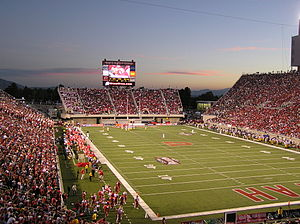 Das Rice-Eccles Stadium in Salt Lake City