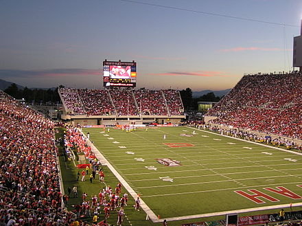 Rice-Eccles Stadium during a football game UtesRiceEccles2.jpg