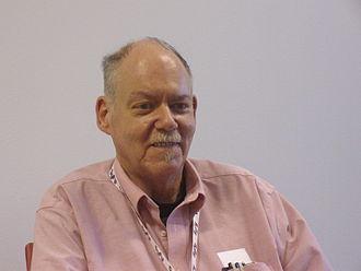 Glen Cook - Cook at Utopiales in 2011