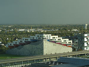 Bjarke Ingels Group - Mountain Dwellings in Ørestad, Copenhagen, Denmark
