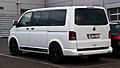 VW Multivan 2.0 TDI Edition 25 (T5, Facelift) – Heckansicht, 20. Mai 2012, Velbert.jpg
