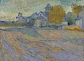 Van Gogh - Blick auf die Kirche von Saint-Paul-de-Mausole.jpeg