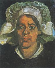 Peasant Woman with White Cap