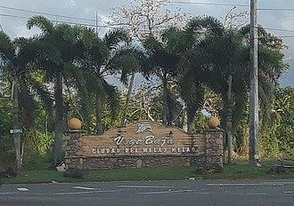 Vega Baja, Puerto Rico - Image: Vega Baja, Puerto Rico welcome sign