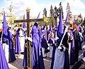 Venerable Hermandad del Santísimo Cristo de la Lanzada y María Santísima de la Caridad, Granda, Semana Santa 2009.JPG