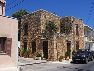 Eleftherios Venizelos - The house of Venizelos in Mournies.
