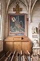 Verneuil-sur-Avre - i3399 - Bas-côté Nord du chœur - Drapeau du sacré coeur.jpg