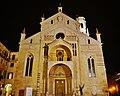 Verona Cattedrale di Santa Maria Matricolare bei Nacht 5.jpg