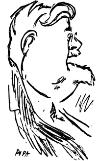 Victor Ion Popa - Mihail Dragomirescu, Universul Literar, 7 feb 1926.png