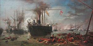 Victor Meirelles - Estudo para a Batalha do Riachuelo, c. 1870.jpg