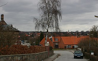 Aaby, Aarhus - Image: View from Aaby to Aabyhøj