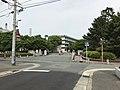 View of Komatsu Gate of Hakozaki Campus, Kyushu University.jpg