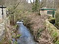 View of Lea Brook and Footpath from bridge - geograph.org.uk - 737181.jpg