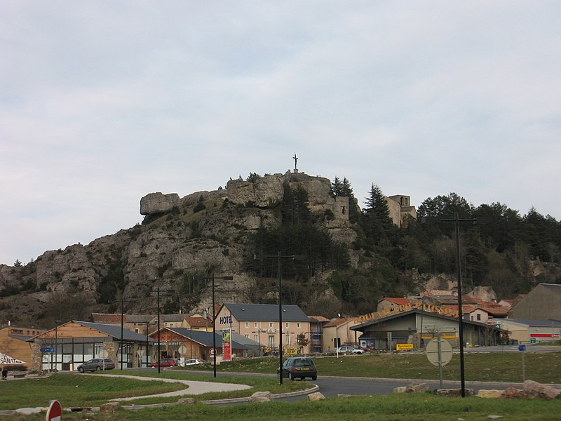View on le Caylar