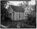 View southwest, from South Main Street - Joseph H. Finch House, 128 South Main Street, English, Crawford County, IN HABS IND,13-ENG,1-2.tif