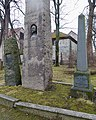 Vilhelm Andreas WEXELSEN 1849–1909 Bauta Monuments Gravminner gravestones Erkebispegården Wilhelm Andreas W. 1886-1912 Ingrid W. 1877-1946 Vidar W. 1890-1947 Fredrik W. 1818-96 Inger D. W. 1823-81 Trondheim Norway 2019-03-20.jpg