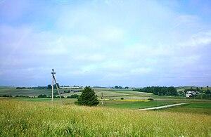 Kaišiadorys District Municipality - Dzūkai elevation near Viliūnai