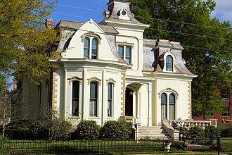 Designing Women - Image: Villa Marre, Little Rock, Arkansas