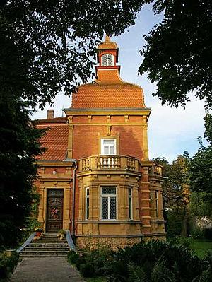 Alfeld, Bavaria - Image: Villa Untere Bachstraße Alfeld