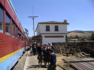 Villapinzón - Image: Villapinzon station