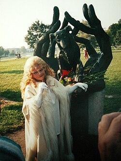 Pod pomnikiem psiej wierności, Kraków 8 września 2005