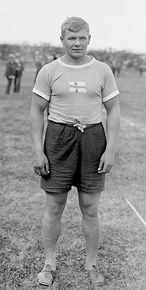 Ville Pörhölä - Ville Pörhölä in 1920