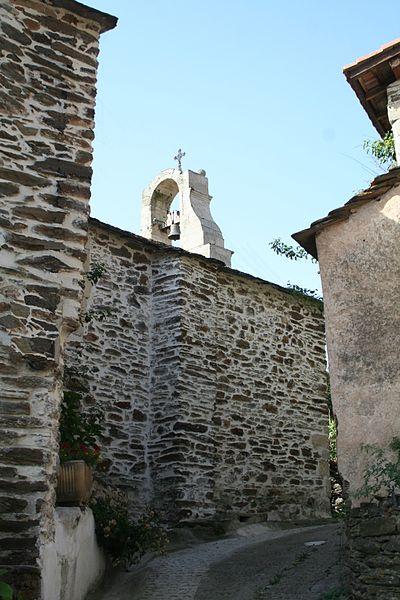 Lamalou-les-Bains - Hérault  - église Notre-Dame de l'Assomption de Villecelle - façade nord