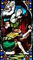 Villeréal - Église Notre-Dame - Vitrail de l'histoire de Noé -2.jpg