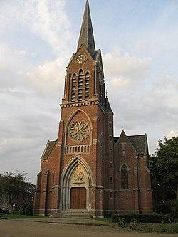 Villers-Perwin, Eglise St Martin.JPG