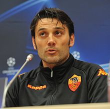 Montella As Roma Coach
