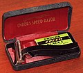 Vintage Enders SE Speed Safety Razor, Made In USA, Circa 1934 (39452683972).jpg