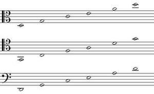 Tunings of the viola da gamba after Silvestro Ganassi del Fontegos Regola Rubertina (1542)