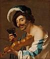 Violin Player with a Wine Glass by Dirck Van Baburen.jpg