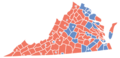 Virginia Presidential Election Results by County 2012.png