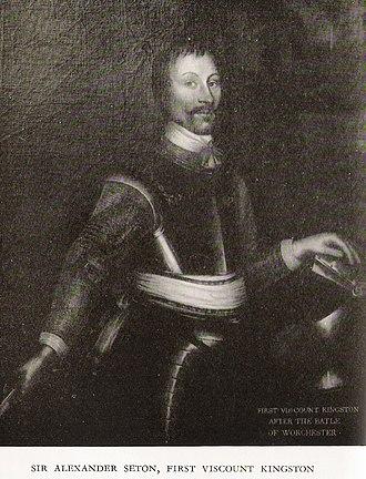 Alexander Seton, 1st Viscount of Kingston - Image: Viscount Kingston