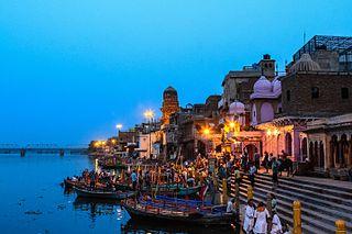 Yamuna Rivers in India