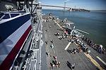 Visitors tour USS America during San Francisco Fleet Week 141013-N-LD343-012.jpg