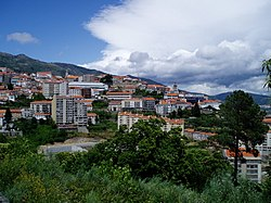 A view of Covilhã.