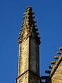 Vitré (35) Église Notre-Dame Façade sud 3ème pinacle.JPG