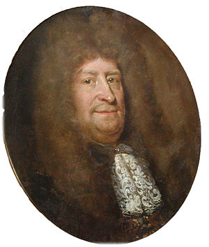 Vitus Bering (1617–1675) - Bering painted by Abraham Wuchters