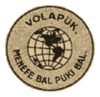Logo of the Volapük movement (2nd phase)